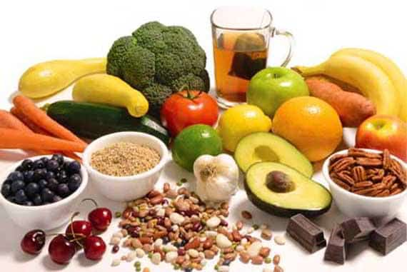 Alimentos para limpiar el organismo