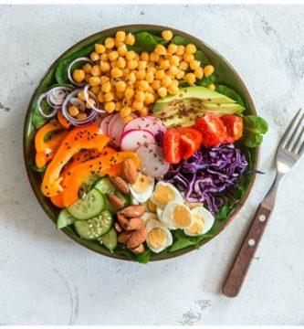 Alimentos en la Dieta Vegetariana